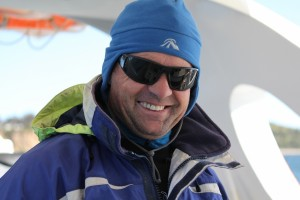 KI Marine Adventures Skipper Andrew Neighbour Phyll Bartram