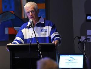 Science Week Presentation MC Tony Bartram Phyll Bartram