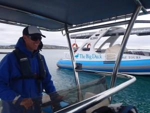 The Big Duck Skipper Dan Irvine Phyll Bartram